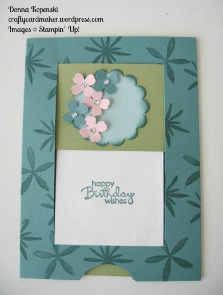 Floral Slider Card